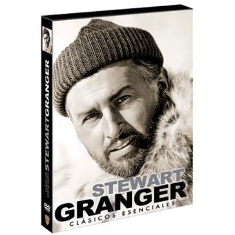 Pack Stewart Granger + Libro - DVD