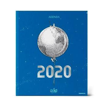 Agenda 2020 Quino azul encuadernada