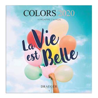 Calendario 2020 16.Calendario Draeger 2020 16 Meses Apaisado Colours 5 En