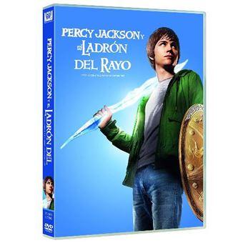 Percy Jackson y el ladrón del rayo - DVD