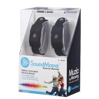 Pulsera Soundmoovz Muzic by Mooving negra