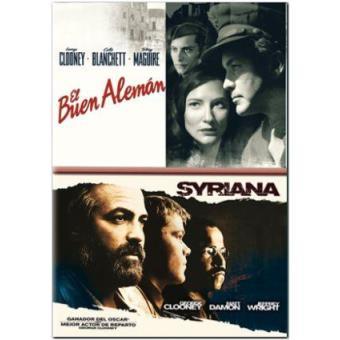 Pack El buen alemán + Syriana - DVD