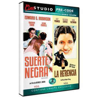 Suerte negra (Dark Hazard) (V.O.S.) + La herencia (The House on 56th Street) (V.S.O.) - DVD