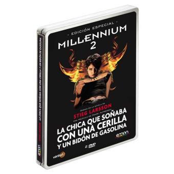 Millennium 2: La chica que soñaba con una cerilla y un bidón de gasolina  Ed Especial Steelbook DVD