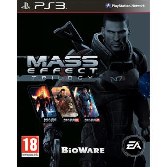 Mass Effect Trilogía PS3
