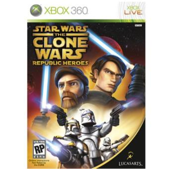 Star WarsStar Wars The Clone Wars: Héroes de la República Xbox 360