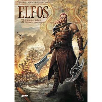 Elfos 5: El asedio de Cadanla / Elfo negro, corazón oscuro