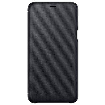 be2923e634f Funda Samsung Wallet Negro para Galaxy A6 Plus - Funda para teléfono ...