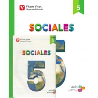 Sociales 5 + Asturias SEP (Aula Activa)
