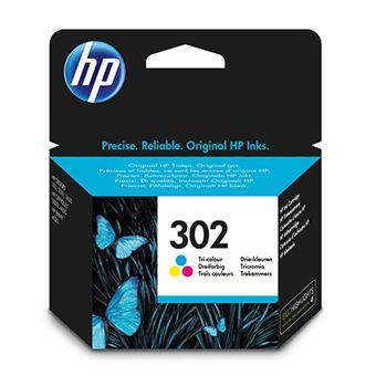 Cartucho de tinta HP 302 Tri-Color - Exclusivo web