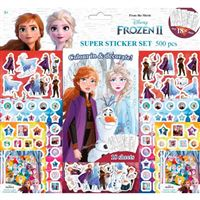 Frozen 2 Super set 500 pegatinas
