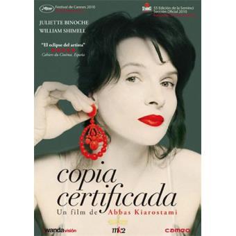Copia certificada - DVD