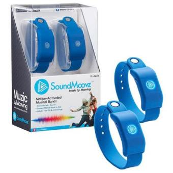 Pulsera Soundmoovz Muzic by Mooving azul