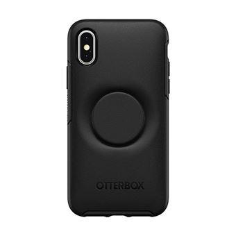 351790eae99 Funda Otterbox Pop Simmetry Negro para iPhone X/Xs - Funda para ...