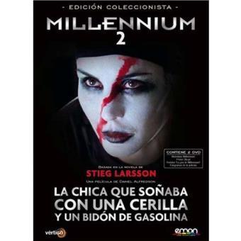 Pack Millennium 2: La chica que soñaba con una cerilla y un bidón de gasolina Ed Coleccionista - DVD