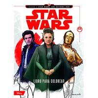 Star Wars: Los últimos Jedi. Libro para colorear