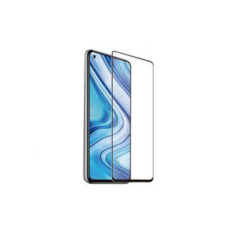 Protector de pantalla Muvit Cristal templado Marco negro para Xiaomi Redmi Note 9