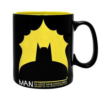 Taza DC Batman - Bat / Man