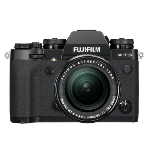 Cámara EVIL Fujifilm X-T3 Negro + XF 18-55 mm OIS