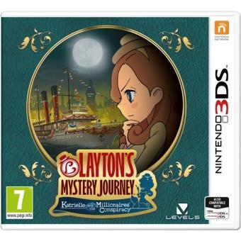 El Misterioso Viaje de Layton: Katrielle y La Conspiración de los Millonarios Nintendo 3DS