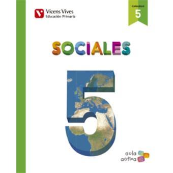 Sociales 5 + Canarias SEP (Aula Activa)