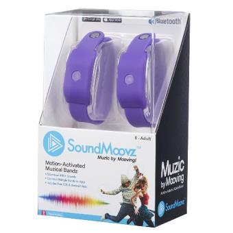 Pulsera Soundmoovz Muzic by Mooving violeta
