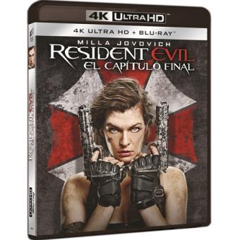 Resident Evil 6 El capítulo final - UHD + Blu-Ray