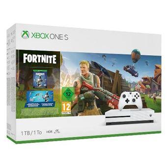 Xbox One S 1TB White + Fortnite