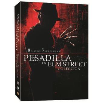 Pack Pesadilla en Elm Street - DVD