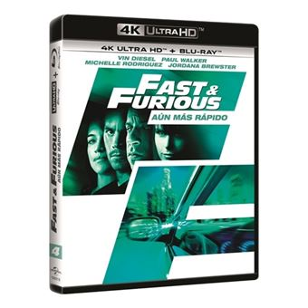 A todo gas: Aún más rápido - Fast & Furious 4 - UHD + Blu-Ray
