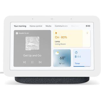 Altavoz con Pantalla Wi-Fi Inteligente Google Nest Hub 2ª Generación Carbón