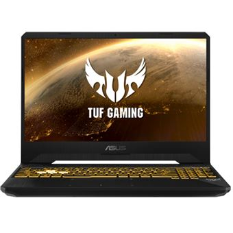Portátil gaming Asus TUF FX505DD-BQ067 15,6'' Sin S.O. Negro