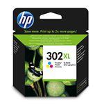 Cartucho de tinta HP 302XL Tri-color - Exclusivo web