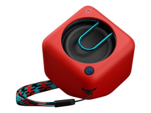 Altavoz bluetooth Philips BT1300 Pixel Rojo