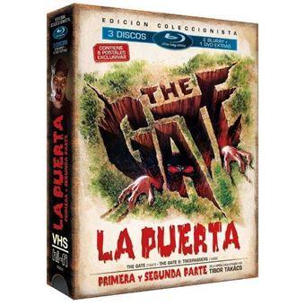 Pack La puerta 1-2  Ed Vintage - Blu-Ray + DVD extras