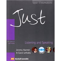 Just Listening And Speaking - Upper-Intermediate - For Class Or Self Study