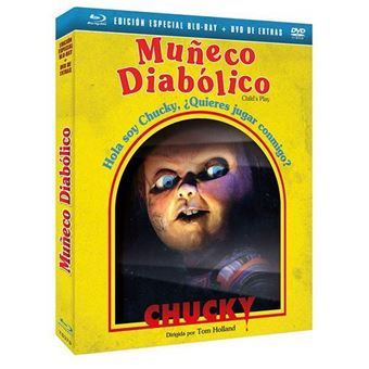 Muñeco diabólico - Ed Coleccionista - Blu-Ray + DVD extras