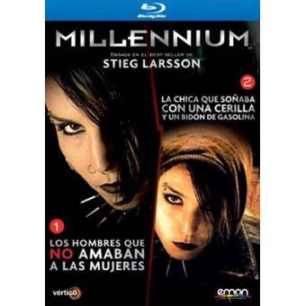Pack Millennium: Los hombres que no amaban a las mujeres + La chica que soñaba con una cerilla y un bidón de gasolina - Blu-Ray