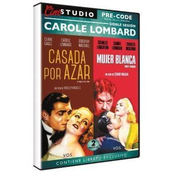 Cine Studio Pre-Code. Doble sesión Carole Lombard: Casada por azar + Mujer blanca (V.O.S.) - DVD