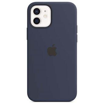 Funda de silicona Azul para iPhone 12