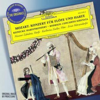 Concierto flauta y arpa