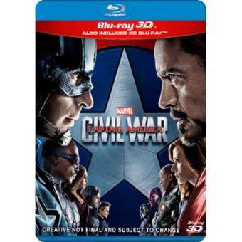 Capitán América: Civil War - Blu-Ray + 3D