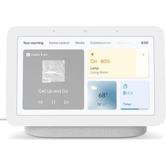 Altavoz con Pantalla Wi-Fi  Inteligente Google Nest Hub 2ª Generación Tiza