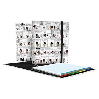 CarpeBook de anillas Mafalda A4 Cómic