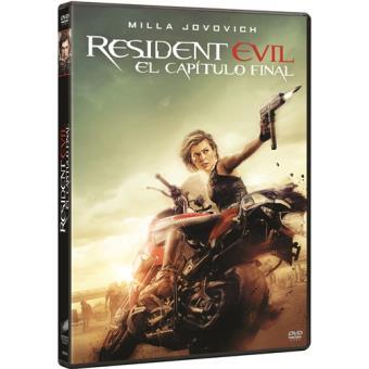 Resident Evil 6: El capítulo final - DVD