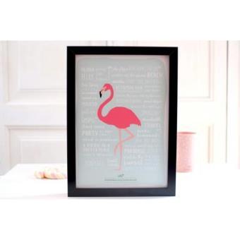 UO Lámina - Flamingo
