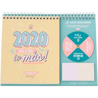 Mr Wonderful Calendario de sobremesa  – 2020, ¡Vas a ser lo más!