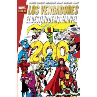 Los Vengadores. El destino de Ms. Marvel. Marvel Gold