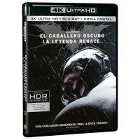 El Caballero Oscuro. La leyenda renace - UHD + Blu-Ray