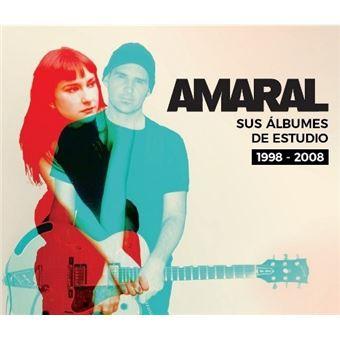 Box Set Amaral: Sus álbumes de estudio 1998-2008 - 6 CD